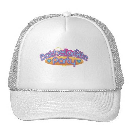 funky bachelorette wedding bridal shower party hats