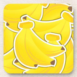Funky bananas coaster