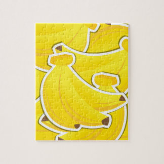 Funky bananas jigsaw puzzle