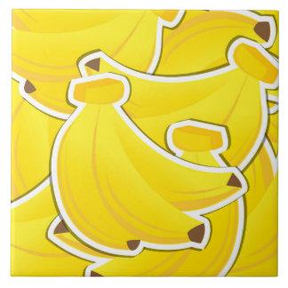 Funky bananas tile