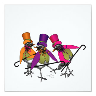 Funky Bird Boogie Card
