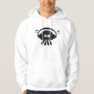 Funky Black Dee Jay Jellyfish Customizable Hoodie