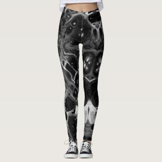 Funky Black & White Leggings