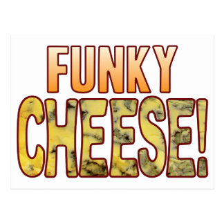 Funky Blue Cheese Postcard