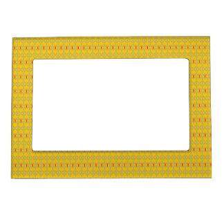 funky bold on mustard photo frame