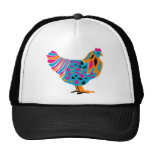 Funky Bright Chicken Cap