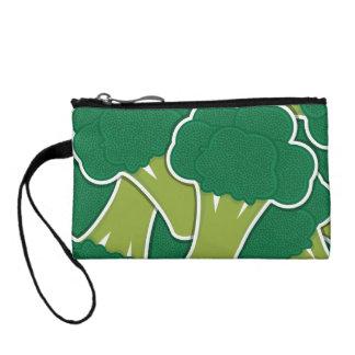 Funky broccoli coin purse
