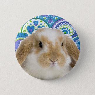 Funky Bunny 6 Cm Round Badge