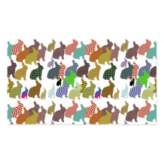 Funky Bunny Business Card