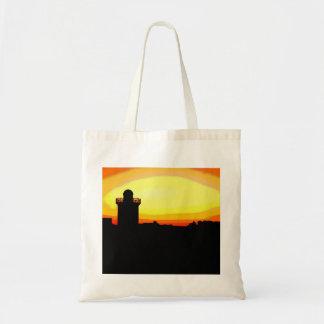Funky Burryport sunrise Budget Tote Bag