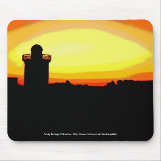 Funky Burryport sunrise Mousepad