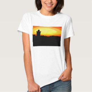 Funky Burryport sunrise Tshirts