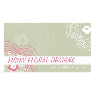 FUNKY BUSINESS CARD :: funky flower 10L