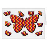 Funky Butterflies Card