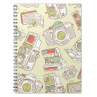 funky cameras notebook