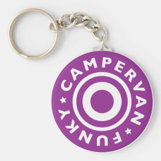 Funky Campervan Key Ring