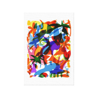 Funky 🐠 canvas print