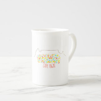 Funky Cape Town Table Mountain Colorful Mug Cup