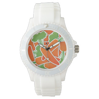 Funky carrot watch