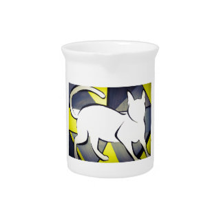 Funky Cat Pitcher