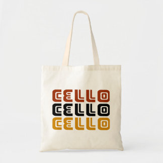 Funky Cello Trio Gift Tote Bag