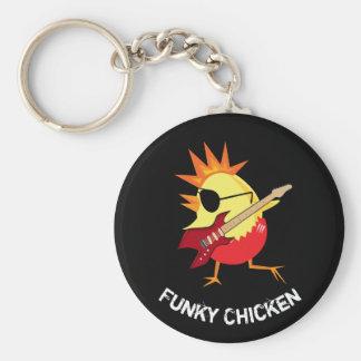 Funky Chicken Key Ring