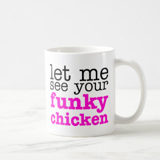 Funky Chicken Pink Coffee Mug