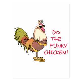 Funky Chicken! Post Cards