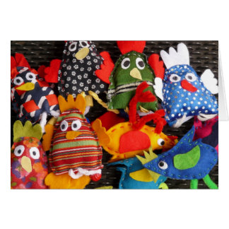 Funky Chickens Hand Puppets Sewing Crafting Cards