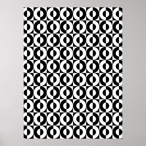 Funky Circles Print