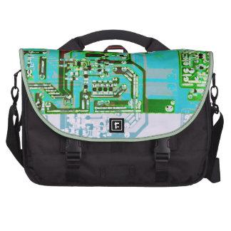 funky circuit board laptop bag