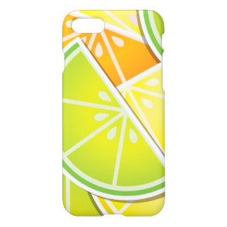 Funky citrus wedges iPhone 8/7 case