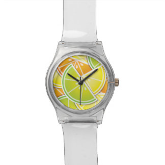 Funky citrus wedges watch