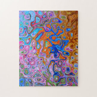 Funky Colorful Pattern Puzzle