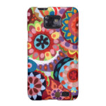 Funky Colourful Abstract Samsung Galaxy S2 Case