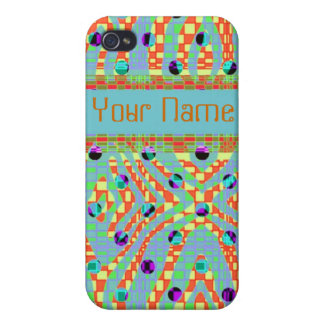 Funky, colourful, retro Iphone4/4s case iPhone 4 Covers