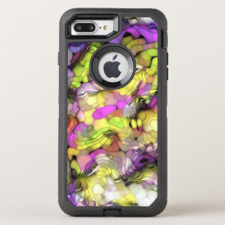 Funky Cool Colorful Abstract Paint Splash Pattern OtterBox Defender iPhone 7 Plus Case