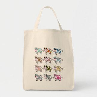 Funky Cows Tote Bag