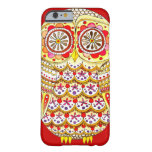 Funky Cute Retro Owl iPhone 6 case by