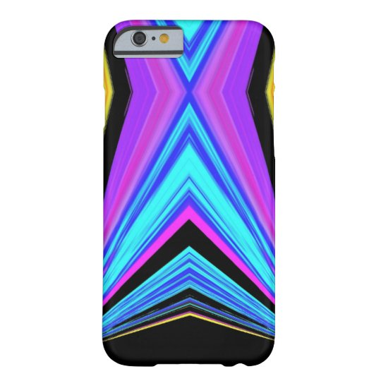 Funky Diamond Pattern Barely There iPhone 6 Case