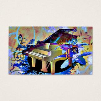 Funky Digitally Colored Piano