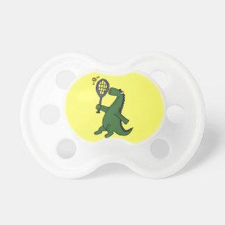 Funky Dinosaur Playing Tennis Cartoon Dummy