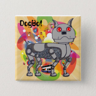 Funky DogBot Badge