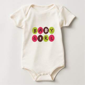 Funky Dot Baby Girl Tshirt
