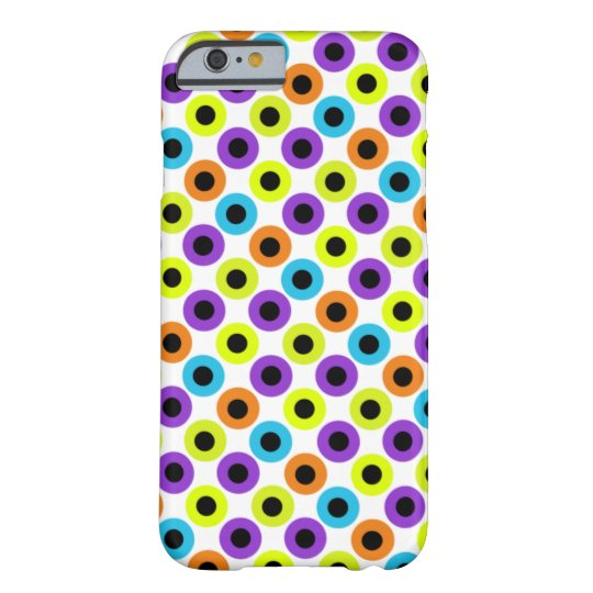 Funky Dots Barely There iPhone 6 Case