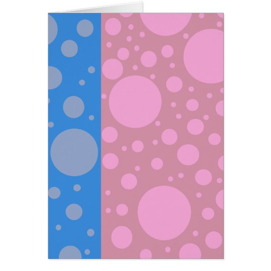 Funky Dots Note Card, Standard white envelopes inc