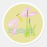 Funky Dragonfly Sticker