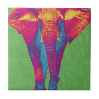 Funky elephant  2 tile
