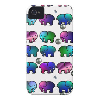 Funky Elephants iPhone 4 Cover