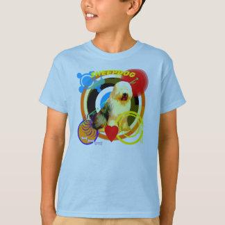 Funky English Sheepdog T-Shirt